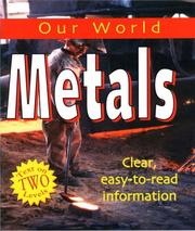 Cover of: Metal (Our World)