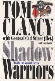 Cover of: Shadow warriors | Tom Clancy