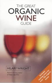 Cover of: The Great Organic Wine Guide
