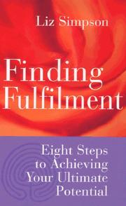 Cover of: Finding Fulfilment