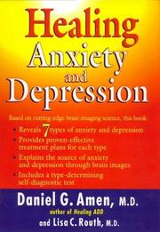 Cover of: Healing Anxiety and Depression