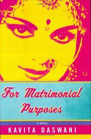 For matrimonial purposes | Open Library