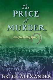 Cover of: The Price of Murder (Sir John Fielding #10)