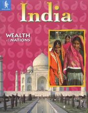 Cover of: India (Wealth of Nations)