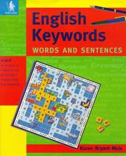 Cover of: English Keywords