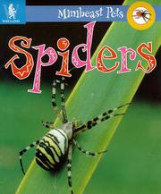 Cover of: Spiders (Minibeast Pets)