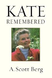 Cover of: Kate remembered