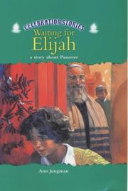 Cover of: Waiting for Elijah (Celebration Stories)