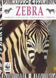Cover of: Zebra (Natural World)