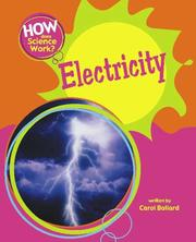 Cover of: Electricity (How Does Science Work?)
