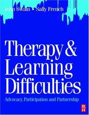 Cover of: Therapy & Learning Difficulties | John Swain