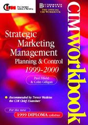 Cover of: Strategic Marketing Management 1999/2000 | Colin Gilligan