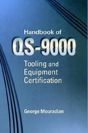 Cover of: Handbook for ISO/QS-9000 Tooling and Equipment Certification