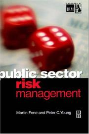 Cover of: Public Sector Risk Management | Peter Young
