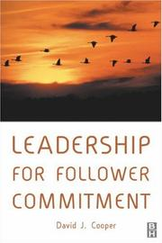 Cover of: Leadership for Follower Commitment