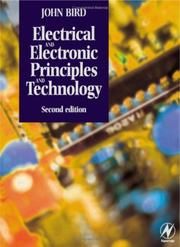 Cover of: Electrical and Electronic Principles and Technology