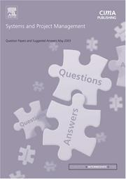 Cover of: Systems and Project Management May 2003 Exam Questions and Answers (CIMA May 2003 Q&As)