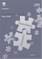 Cover of: Finance May 2004 Exam Q&As (CIMA May 2004 Q&As)