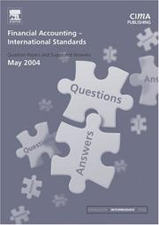 Cover of: Financial Accounting (International) Standards May 2004 Exam Q&As (CIMA May 2004 Q&As)