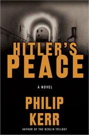 Cover of: Hitler's peace: a novel of the Second World War