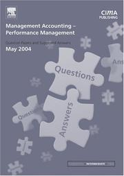 Cover of: Management Accounting- Performance Management May 2004 Exam Q&As (CIMA May 2004 Q&As)