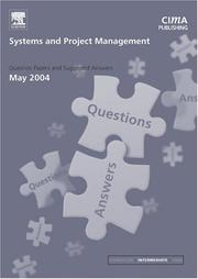 Cover of: Systems and Project Management May 2004 Exam Q&As (CIMA May 2004 Q&As)
