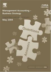 Cover of: Management Accounting- Business Strategy May 2004 Exam Q&As (CIMA May 2004 Q&As)