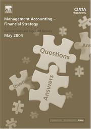 Cover of: Management Accounting- Financial Strategy May 2004 Exam Q&As (CIMA May 2004 Q&As)