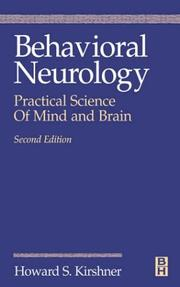 Cover of: Behavioral Neurology | Howard Kirshner