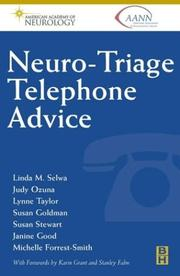Cover of: Neuro Triage Telephone Advice | AAN