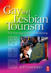 Cover of: Gay and Lesbian Tourism | Jeff Guaracino