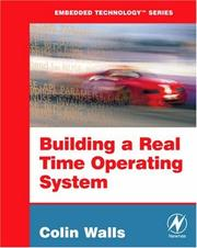 Cover of: Building a Real Time Operating System | Colin Walls