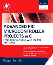 Advanced PIC microcontroller projects in C by Dogan Ibrahim