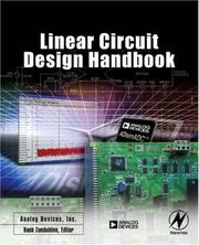 Cover of: Linear Circuit Design Handbook | Engineering Staff Analog Devices Inc.