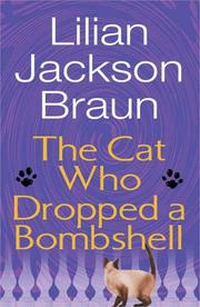 Cover of: The cat who dropped a bombshell