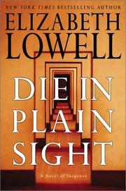 Cover of: Die in plain sight