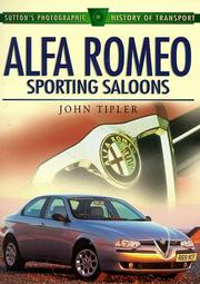 Cover of: Alfa Romeo Sporting Saloons