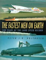 Cover of: The Fastest Men on Earth | Peter J.R. Holthusen