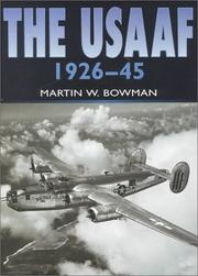 Cover of: USAAF in Camera 1926-1945