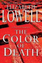 Cover of: The color of death: A Novel of Suspense