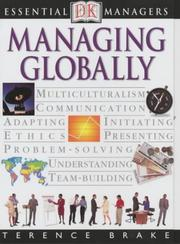 Cover of: Managing Globally (Essential Managers)