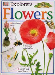 Cover of: Flowers (Eyewitness Explorers)
