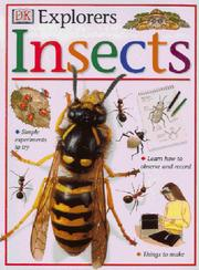 Cover of: Insects (Eyewitness Explorers)