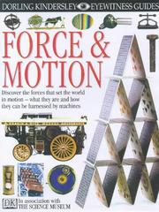 Cover of: Force and Motion