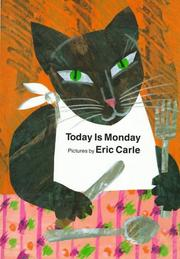 Cover of: Today is Monday
