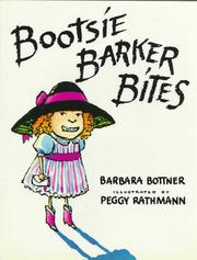 Cover of: Bootsie Barker bites