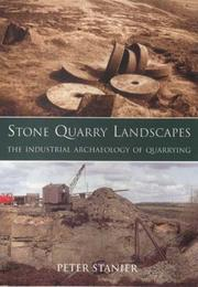 Cover of: Stone Quarry Landscapes