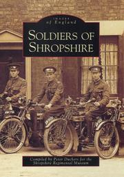 Cover of: Soldiers of Shropshire | Peter Duckers