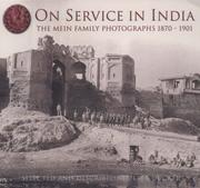 Cover of: On Service in India