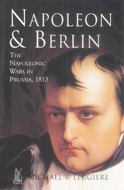 Cover of: Napoleon & Berlin | Michael V. Leggiere